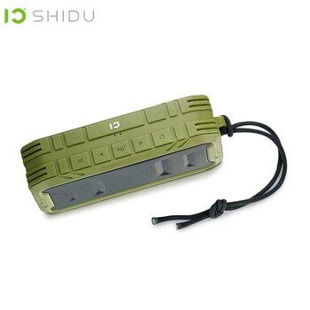 SHIDU Outdoor IPX5 Waterproof Portable Wireless Bluetooth 4.2 Speaker Subwoofer Bass Stereo Surround Loudspeaker AUX With MIC P5