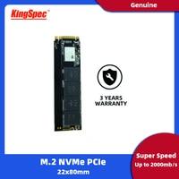 KingSpec SSD M2 nvme 120gb 240gb 500gb M2 SSD 1tb pcie NVMe 2280 PCIE SSD M.2 HDD PCIe Internal Hard Drive For Laptop MSI