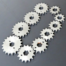 inner hole diameter 17mm sprockets 428 sprocket 10t 11t 12t 13t 14t 15t 16t 17t 18t 19t free shipping