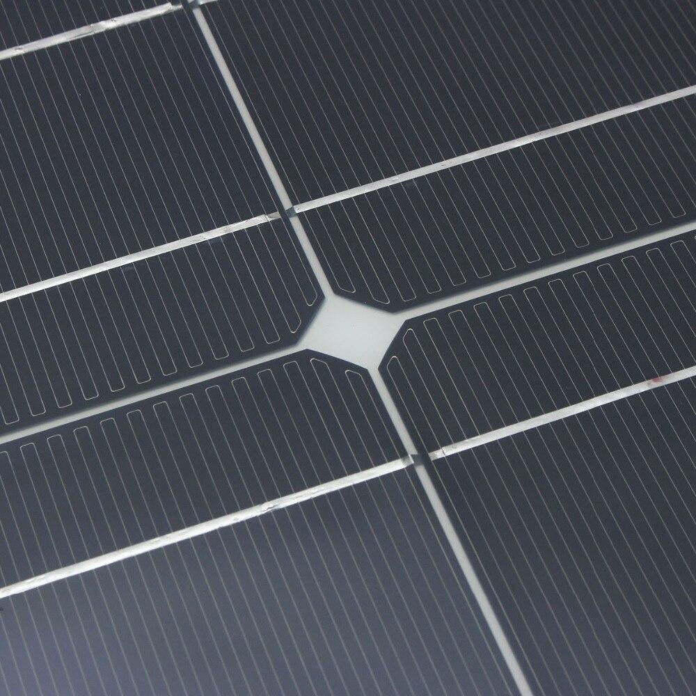 Panel solar 300w 200w 400w 12V voltios panel solar flexible monocrsytalline célula solar para coche Marina batería solar 12 v/24 v 400w - 3
