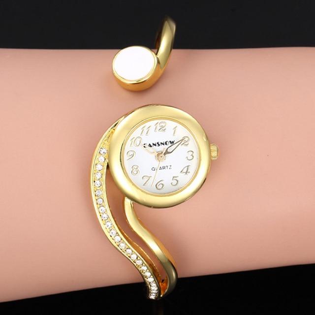 Las mujeres relojes de lujo 2021 pulsera de reloj de oro/plata Dial pequeño Dial vestido cuarzo reloj de pulsera de regalo para las mujeres, reloj de mujer 3