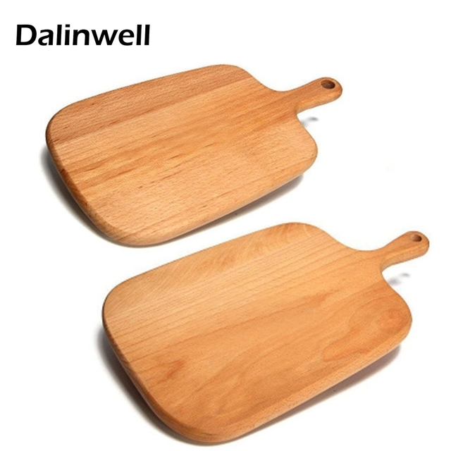 Kitchen Supplies Solid Free Beech Wood Baking Sishi Bread Chopping Cutting  Board Natural Eco Friendly