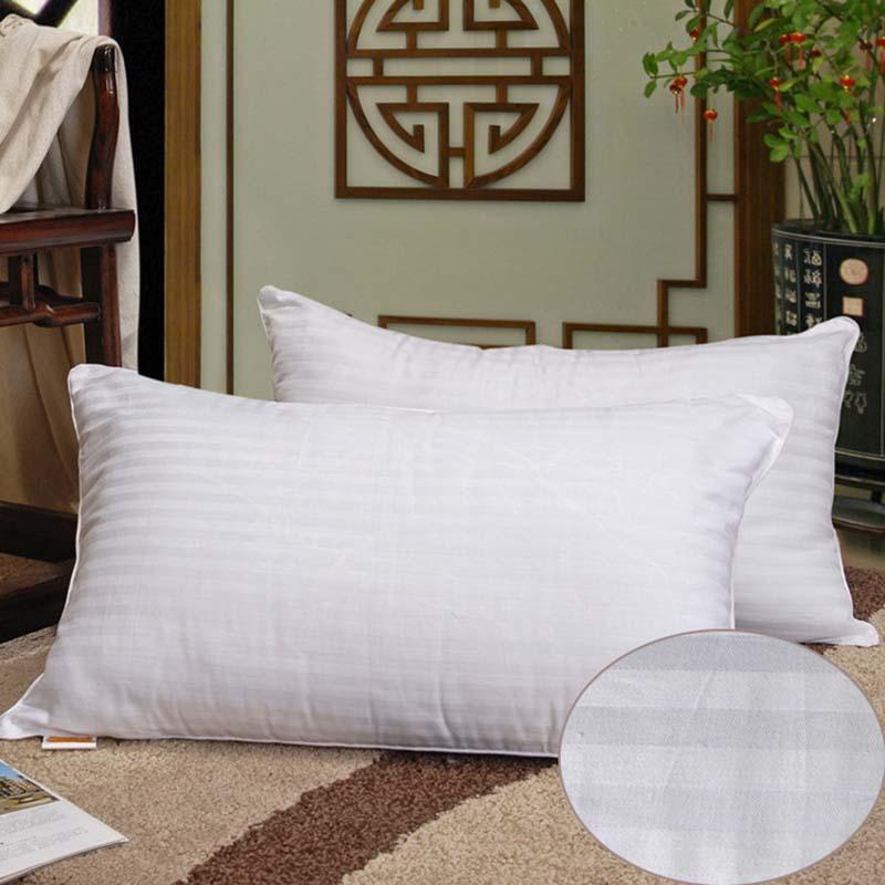 Chpermore 100% oreiller en soie de mûrier oreillers orthopédiques de cou 48*74 cm oreiller cinq étoiles de mémoire d'hôtel pour dormir la santé
