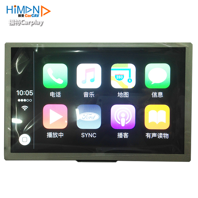US $750 0 |Himan carcav FOR FORD LINCOLN MYFORD TOUCH SYNC 3 NAVIGATION GPS  RADIO MODULE AND ST TOUCH SCREEN-in Car Monitors from Automobiles &