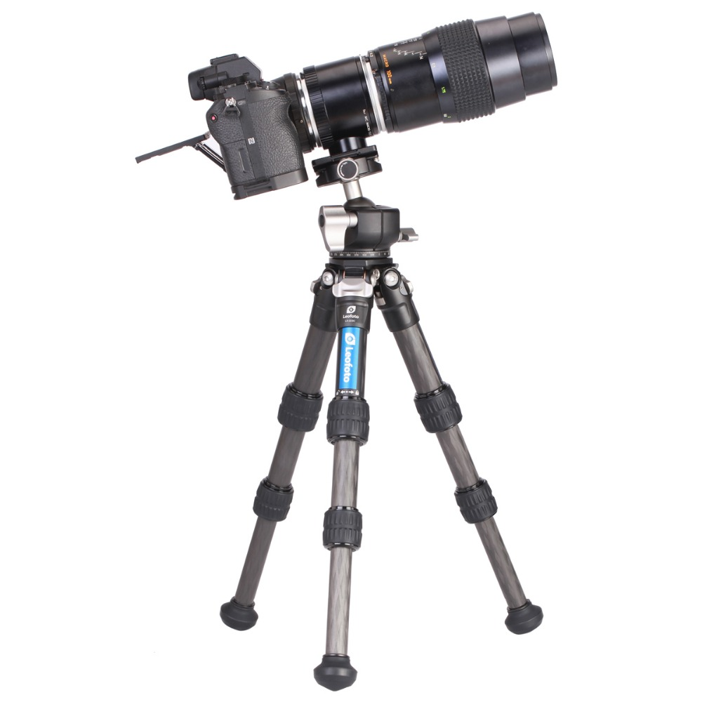 Professional The carbon fiber Desktop Camera Travel Mini Portabl Tripod Monopod Stand for iPhone Sony Canon Nikon Pentax DSLR DV