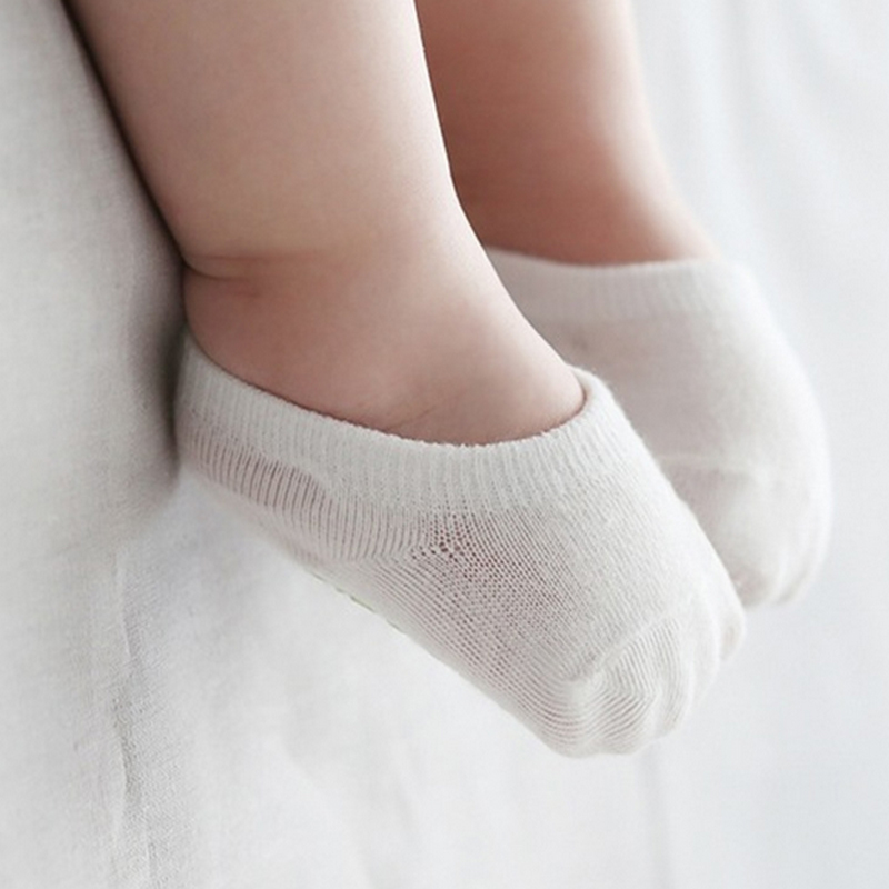 5pairs/lot High Quality Korean Children's Invisible Boat Socks Baby Non Slip Socks Cotton Sock for Girl and Boy 5