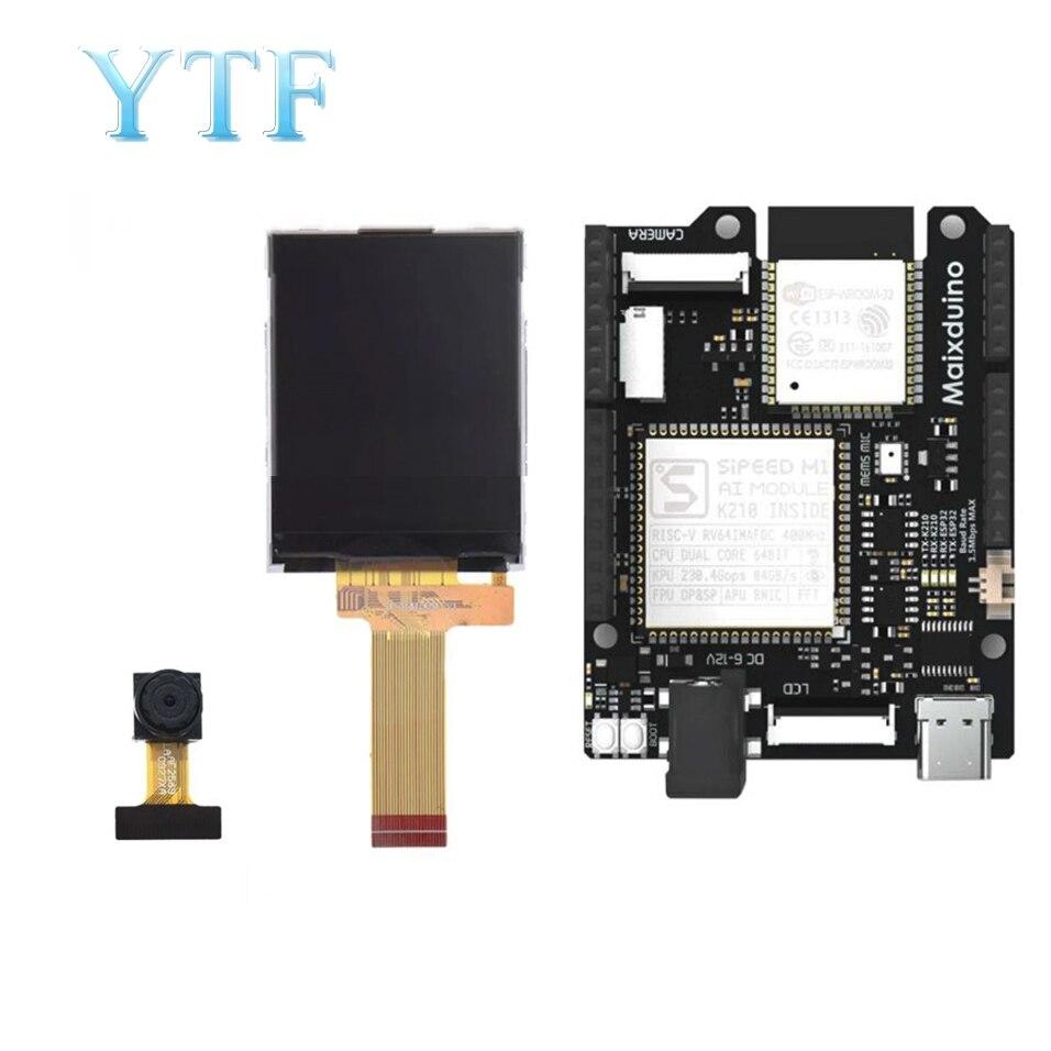 Sipeed maixduino placa de desenvolvimento ai, k210 RISC-V ai + lote esp32 compatível com arduino