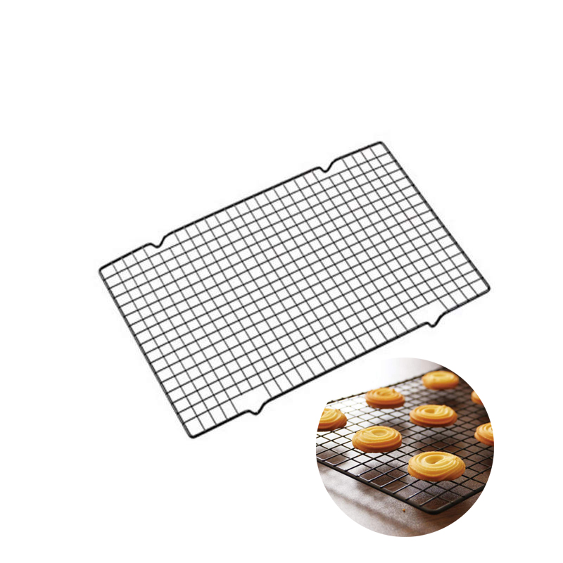 Nonstick Stainless Steel Cooling Rack Cake Cookie Bread Biscuits Net Mat Baking Metal Tray Kitchen Tools