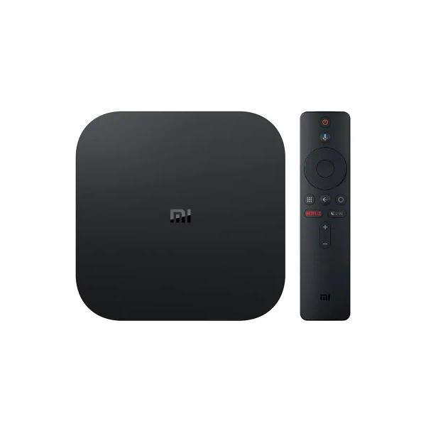 Android TV Android TV Xiaomi ma Box S 4 K 3840x2160 Quadcore A53 Dualband 2 GB 8 GB WiFi HDMI BT Android 8.1
