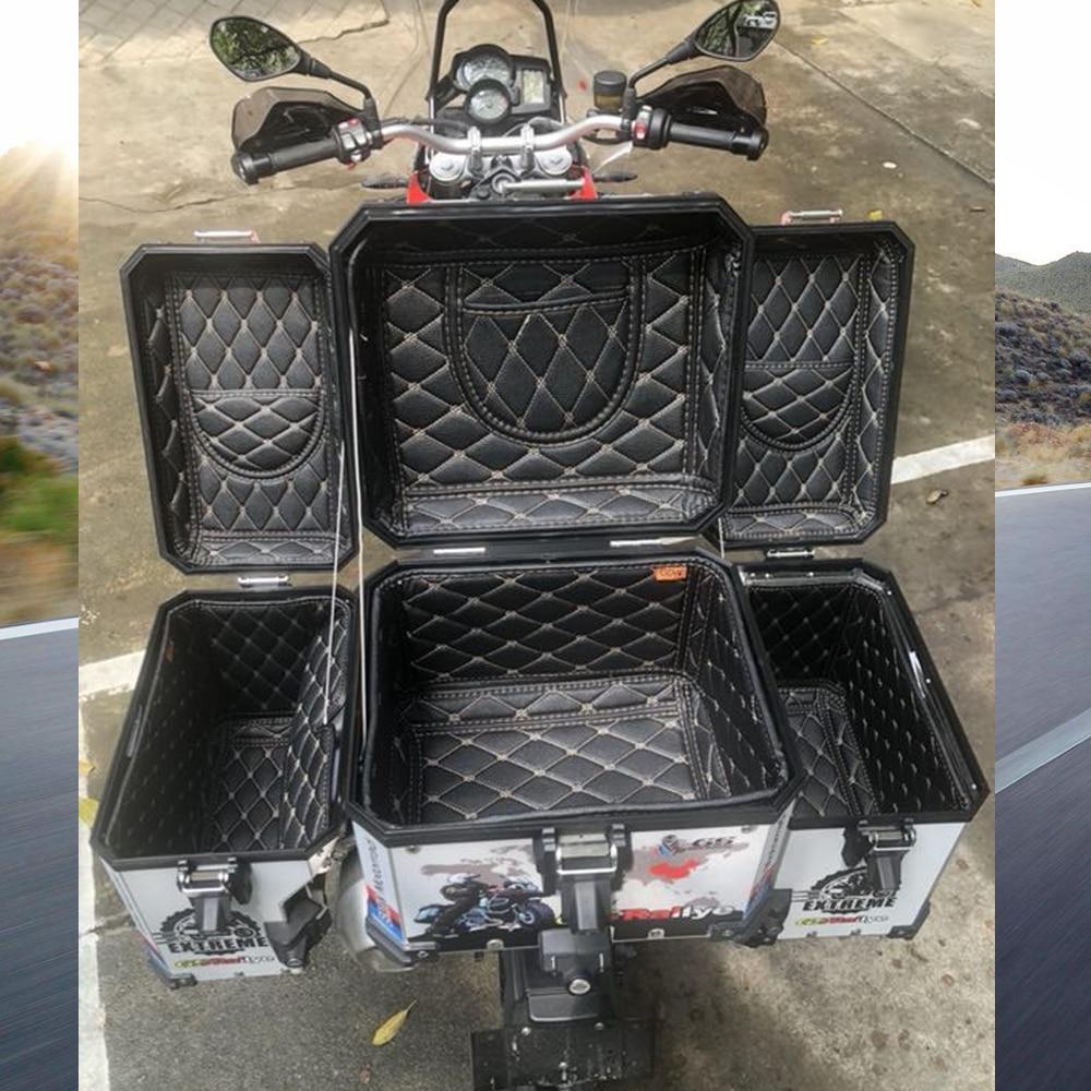 Hinten Gepäck Box Innere Container Schwanz Fall Stamm Seite Sattel Innere Tasche Top abdeckung Inneren Tasche für BMW F800 R1200GS LC/ADV 13-17