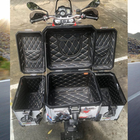 Rear Luggage Box Inner Container Tail Case Trunk Side Saddlebag Inner Bag Top cover Inner Bag for BMW F800 R1200GS LC/ADV 13 17