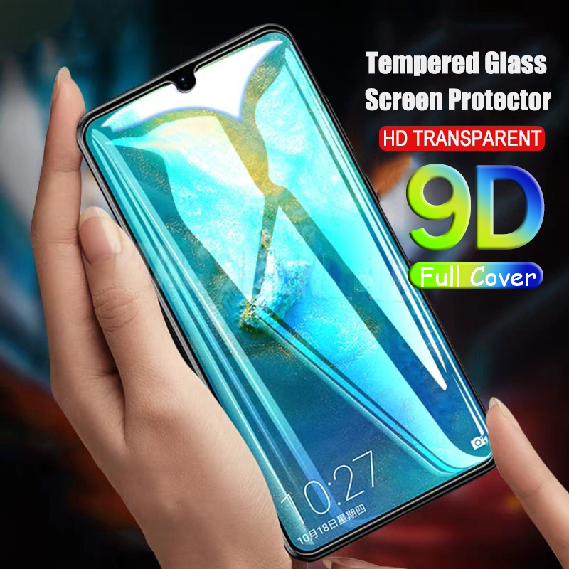 9D Protective Glas Full Glue On The For Huewei P20 P Smart Plus Mast 20 Lite Pro 2019 Tempered Glass Film Cover Screen Protector(China)