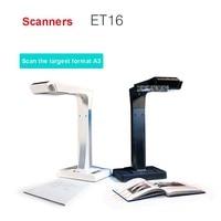 ET16 Intelligente Scanner Portatile con 34 Lingue OCR e WIFI Connect per Czur Cloud Storage&1080 P Uscita HDMI per Visual Presen