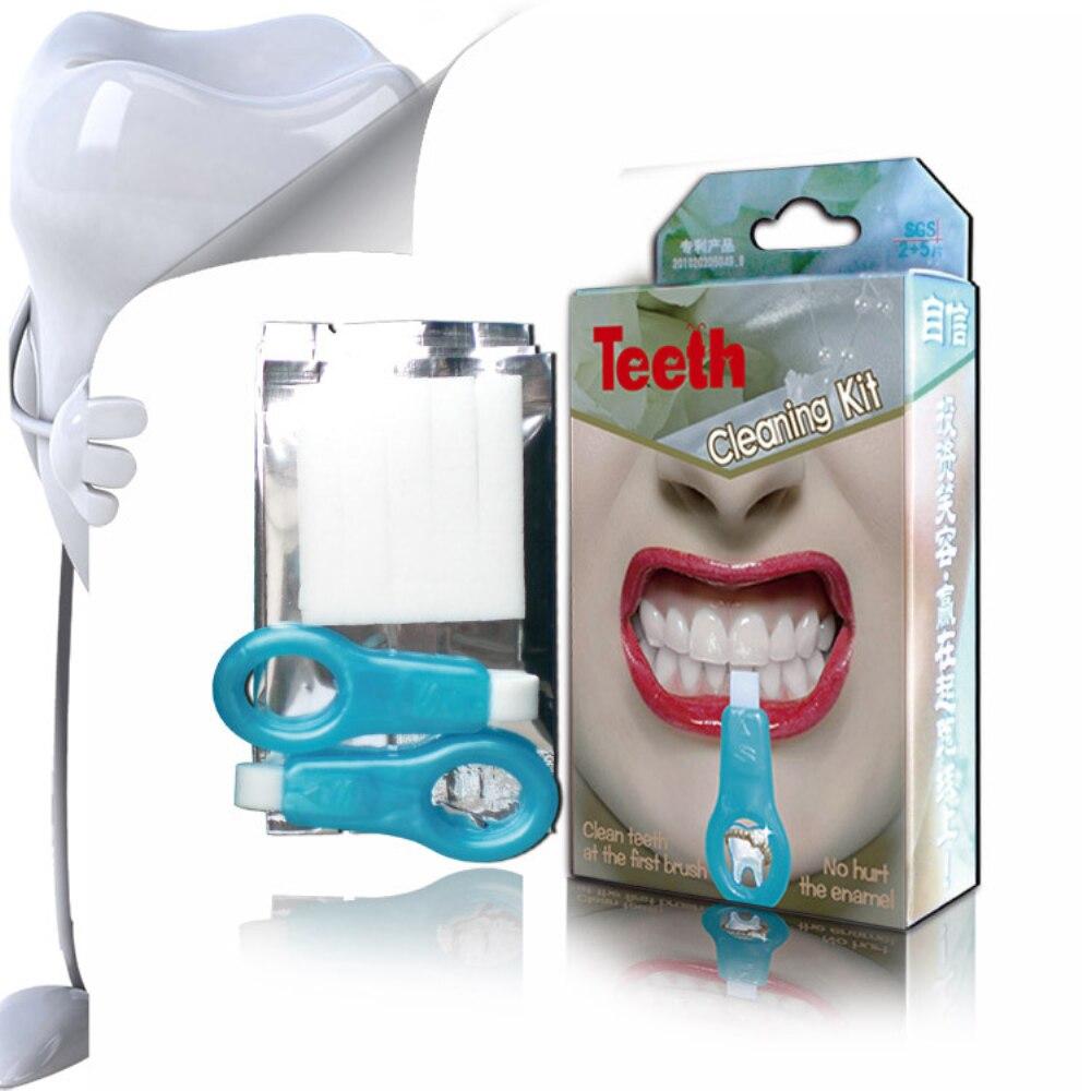 Drop Ship Nano Teeth Whitening Dental Kit Cleaning Pen Sponge Stain Remover Bleaching Patent Advanced Oral Hygiene Care TSLM2