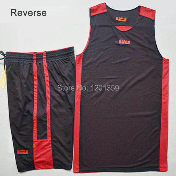 ba4cb0aae554 Red with black college basketball uniforms