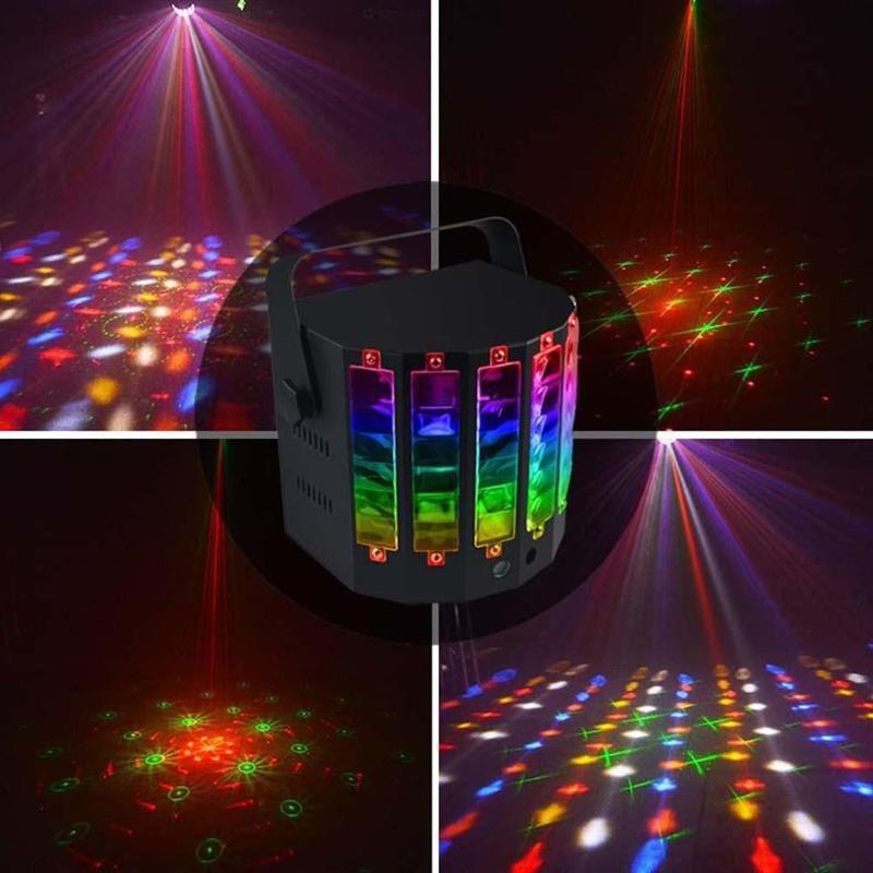 18 W 9 couleurs DJ Disco scène Laser lumière maison KTV fête Bar hôtel éclairage effet LED lampe de musique