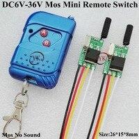 RF Small Remote Control Switch DC 6V 36V 7 4V 9V 12V 13V 14V 16V 18V