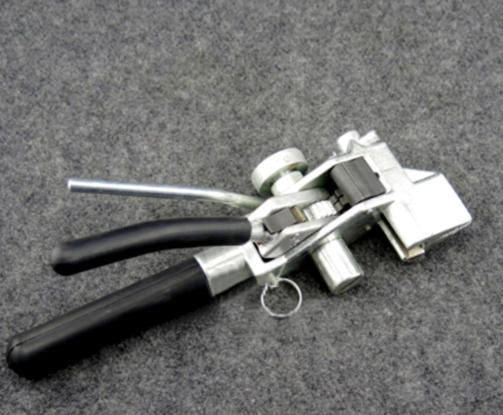 Serres-câbles en acier inoxydable serres-câbles attache-câble tendeur outil pointu déclencheur pistolet à câble d'action avec Cutter