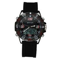 2019 New Sanda Watches Male Fashion Sport Military Wristwatches Men Luxury Brand Waterproof 30m Led Digital Analog Quartz Watch