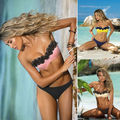 New Women Push-up Bikini Set Padded Bra Floral Swimsuit Swimwear Bathing Suit