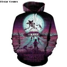 PLstar Cosmos stranger things New 3d hoodies Men/women Sweatshirts cool upside down eleven Printed Hooded Tracksuits Hoodie