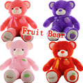 Kawaii 160cm Fruit Giant Teddy Bear Plush Soft Toys Kids Toys Huge Stuffed Animals Cheap Ted Dolls Best Gifts for Child Gift