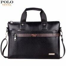 Fashion Business Men Briefcase Bag Leather Laptop Bag
