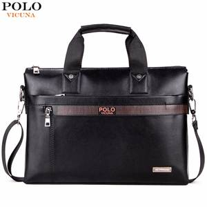 438fd155a8 VICUNA POLO Business Briefcase Leather Laptop Bag Man
