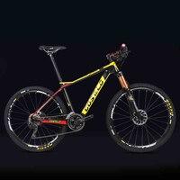 27 5 29inch Carbon Fiber Mountain Bicycle Pneumatic Shock 30 33 Speed Carbon Fiber Frame Lightweight