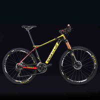 27.5/29inch carbon fiber mountain bicycle Pneumatic shock 30/ 33 speed carbon fiber frame lightweight Cross country weapon MTB