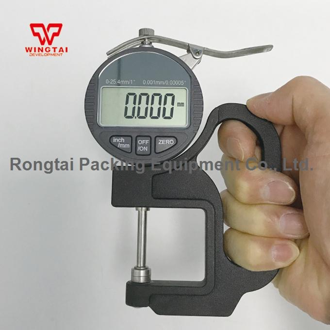 0.001mm Digital Thickness Gauge BY04 Thickness Meter For Paper & Film Thickness Tester 0-25mm exploit high precision 0 01mm profession digital lcd display thickness gauge meter paper leather fabric thickness tester