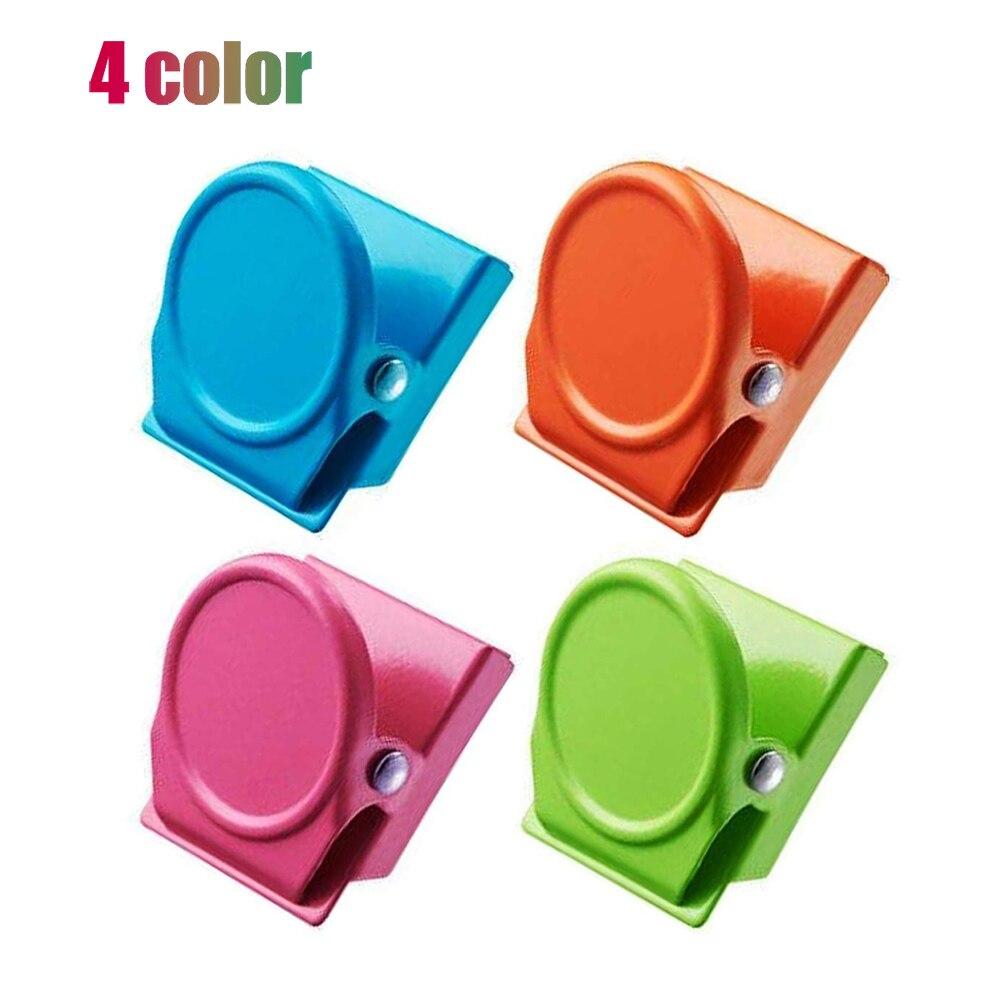 4 шт. круглой формы из металла магнит для холодильника цветной тон Магнитный для кухни, кладовки, офиса, Ремесленная комната, гаража