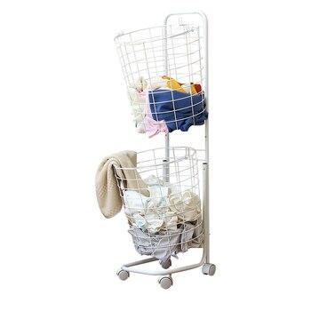 큰 세탁 바구니 이동 더러운 옷 욕실 깔끔한 바구니 수집 바구니