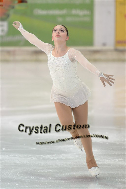 Adult Figure Skating Dresses For Competition Fashion New Brand Ice Skating Clothing  DR3374