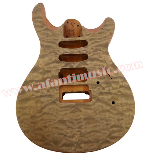 Afanti Music DIY guitar DIY Electric guitar body (ADK-046) afanti music diy sg alder body electric guitar body ajb 157