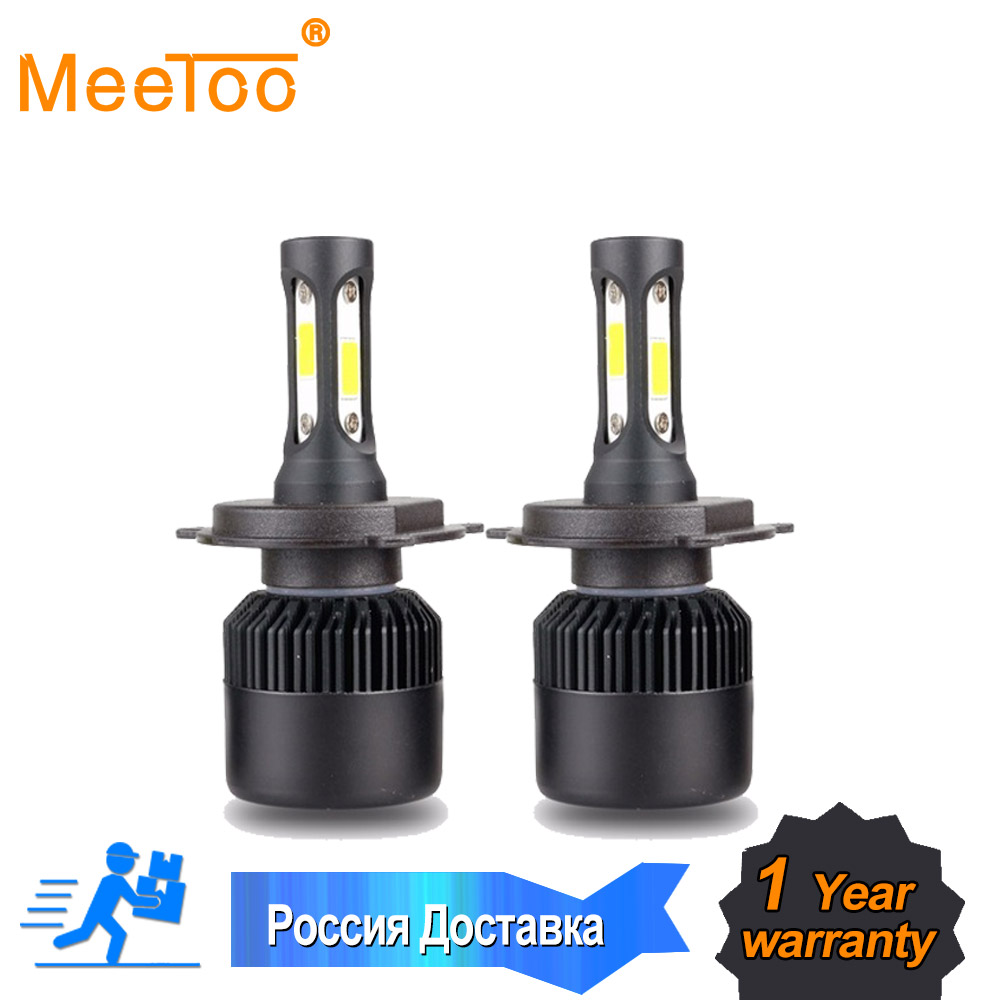 top the world\u0027s cheapest products led h4 bulb in all new led2pcs meetoo car headllight h7 led h4 led bulb h1 h11 hb3 9005 9006 9012 72w 8000lm 6500k fog light 12v 24v auto headlamp lamps