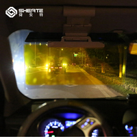 SHEATE Large Anti Dazzle Visor Goggles SUV Special HD Clear View Mirror 32 13 2cm Larger
