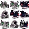 CALIENTE Más Nuevo Bebé Muchacha de Los Muchachos de Invierno de Nieve Caliente Botas Infantiles Del Niño Suave de Alta Zapatos del Pesebre