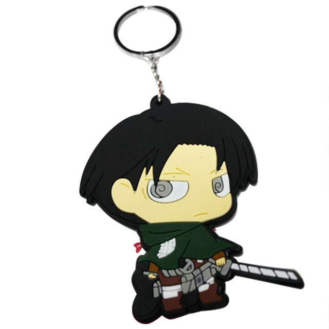 Rivaille Key Chain Figure