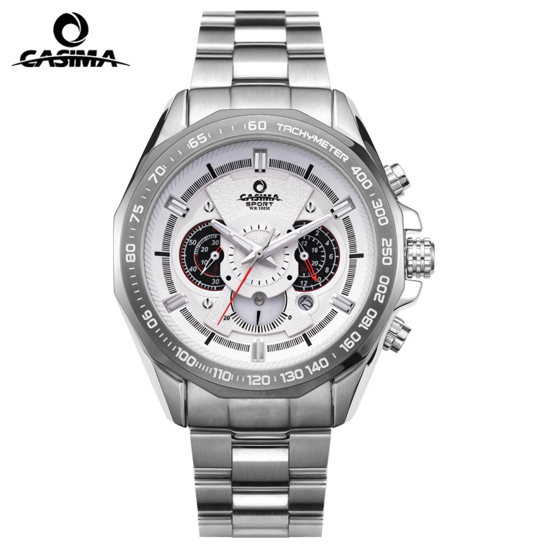 Luxury Brand CASIMA Sport Quartz Watches Men reloj hombre Casual Outdoor 100m Waterproof Men Watch Relogio Masculino montre auto car usb sd aux adapter audio interface mp3 converter for mazda premacy 2002 2008 fits select oem radios