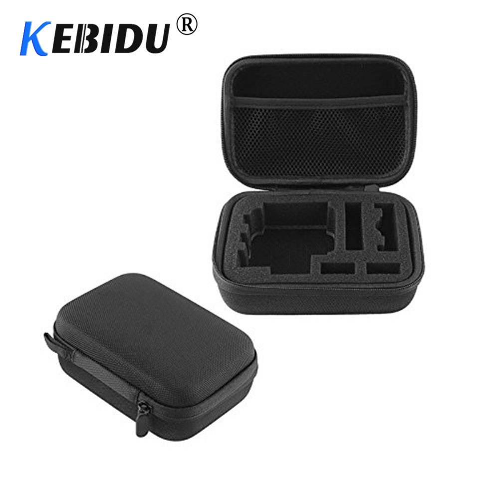 Kebidu Travel Storage Collection Bag Case Hero 3/4 Sj4000 For Xiao Mi Yi Action Soocoo Camera Sport Cam For Gopro Accessories Nourishing The Kidneys Relieving Rheumatism Digital Gear Bags