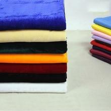 Cheap high quality Multi-color velvet fabric pleuche cloth Gorgeous felt Width 170 cm 1 meter for one piece