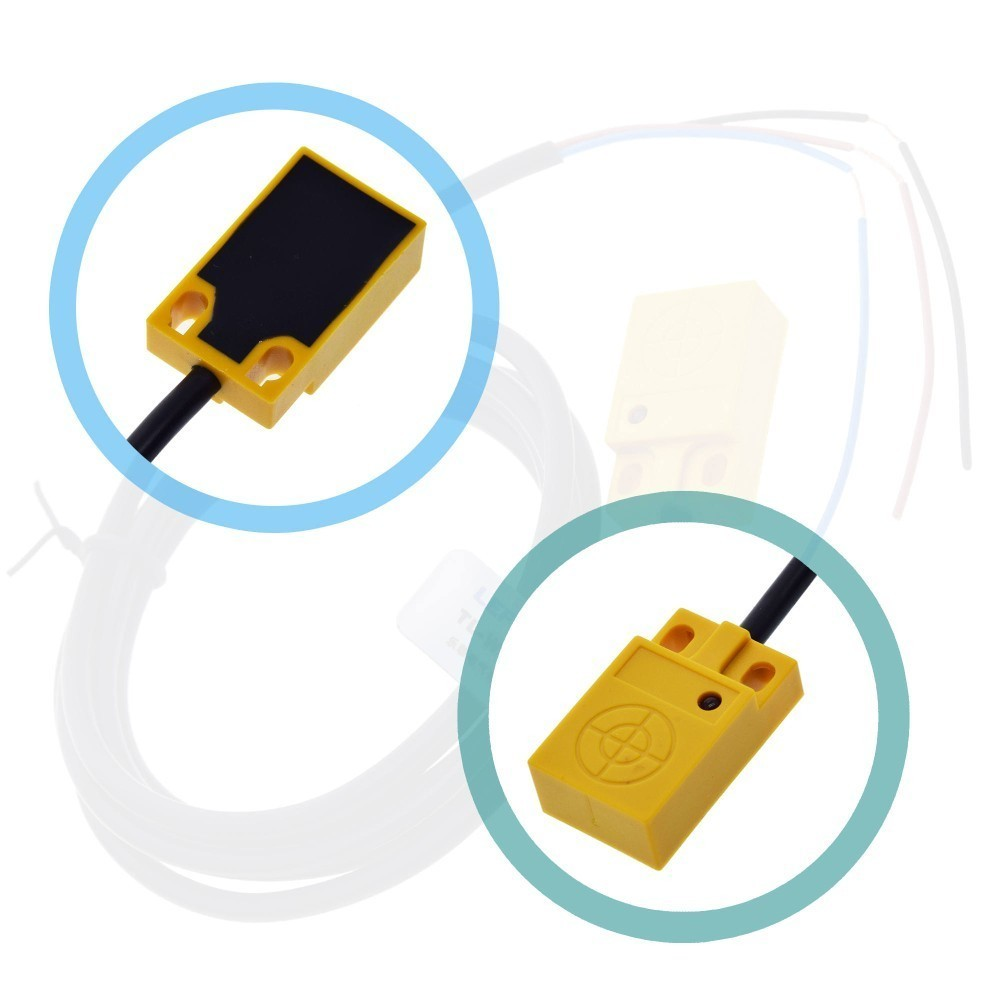 Hall Effect Sensor Proximity Switch NPN w//magnet /& LED Arduino Ships from USA