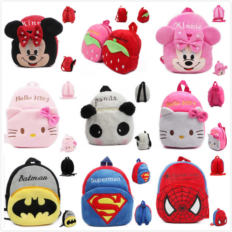 37fbca5b2b4f Detail Feedback Questions about New cute cartoon kids plush backpack toy mini  school bag Children s gifts kindergarten boy girl baby student bags lovely  ...