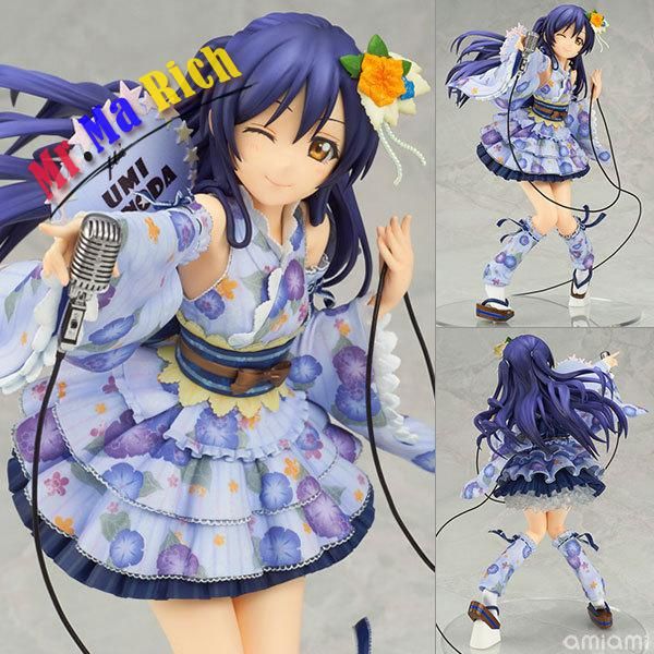 Anime Sexy Figure Love Live! School Idol Festival Sonoda Umi Pvc Action Figure Collectible Model Toys Doll 21cm to love ru darkness action figure eve sexy swimsuit cartoon children gifts pvc action figure collectible model toy 23cm kt3201