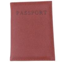 для женщин и для мужчин модные искусственная кожа путешествия ССА держатель крышки идентификатор карты сумка пас кошелек защитный рукав сумка для хранения 838528