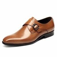 Красивые мужские туфли ручной работы из натуральной коровьей кожи; повседневная обувь в европейском и американском стиле; мужские деловые