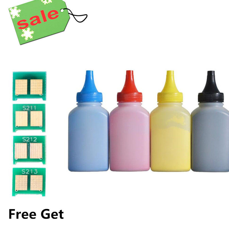 Free Get 4 Color Chip,Toner Powder BK C M Y Compatible For HP CP1025 CP1025nw Laser Printer Pro 100 Color MFP M175A M175NW