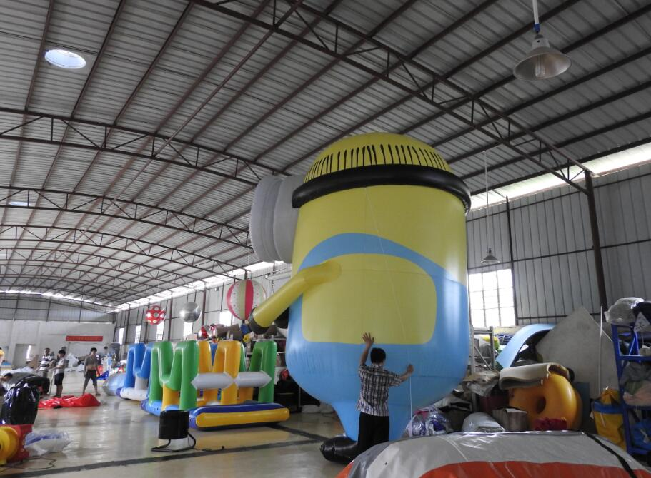 inflatable Minions cartoon for advertising or company event