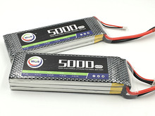 MOS 11.1v 5000mah 30c 3s RC lipo battery for rc airplane rc helicopter free shipping
